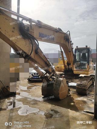 臨夏小松PC220-8挖掘機實拍圖片