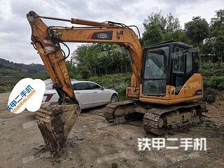 雷沃重工FR80-7挖掘機實拍圖片