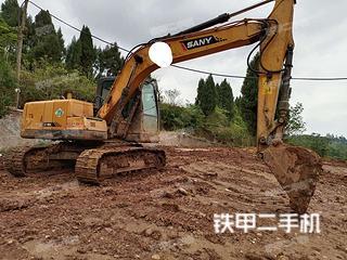 四川-南充市二手三一重工SY135C挖掘机实拍照片