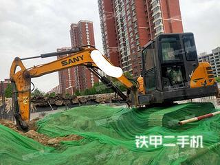 河北-邯郸市二手三一重工SY55C挖掘机实拍照片