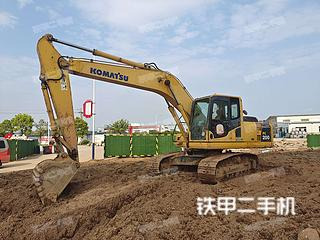 小松PC200-8挖掘机实拍图片