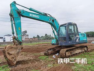 广西-柳州市二手神钢SK140LC-8挖掘机实拍照片