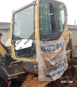 湖南-怀化市二手现代R60-9挖掘机实拍照片
