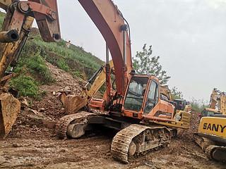 二手斗山挖掘机左前45实拍图224