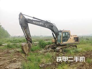江苏-南京市二手沃尔沃EC210B挖掘机实拍照片
