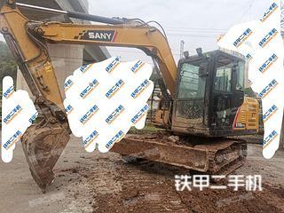 四川-内江市二手三一重工SY75C挖掘机实拍照片