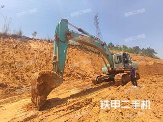 保山神钢SK350LC-8挖掘机实拍图片