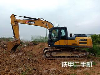 安徽-巢湖市二手徐工XE200DA挖掘机实拍照片