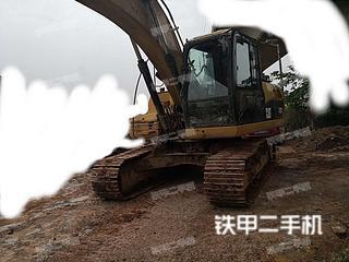 湖南-湘潭市二手卡特彼勒320D液压挖掘机实拍照片
