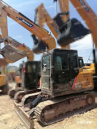 云南-昆明市二手三一重工SY75C挖掘机实拍照片