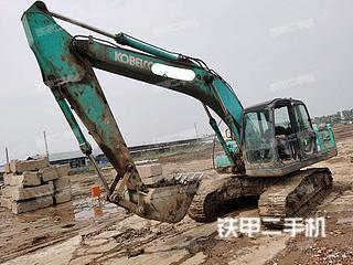萊蕪神鋼SK200-8挖掘機實拍圖片