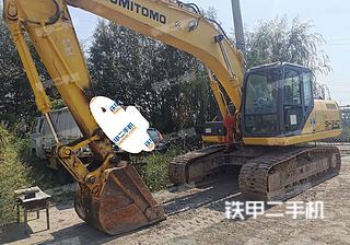住友SH200-5挖掘機實拍圖片