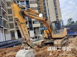 广西-柳州市二手龙工LG6150挖掘机实拍照片