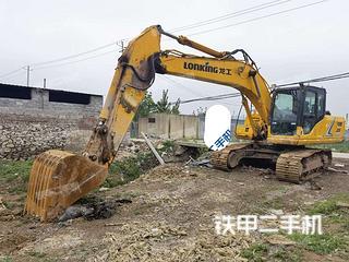 龍工LG6225E挖掘機實拍圖片