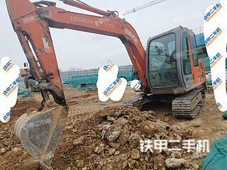 河南-鹤壁市二手日立ZX60挖掘机实拍照片