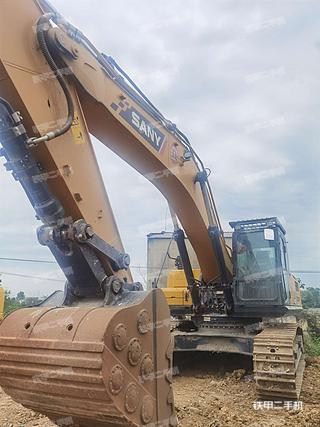 三一重工SY375H挖掘機實拍圖片
