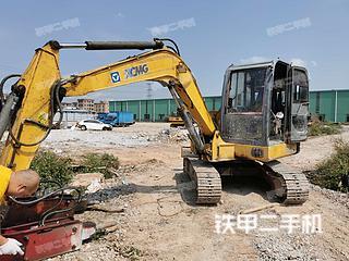 徐工XE60挖掘機實拍圖片