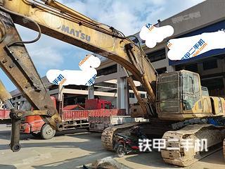 福建-福州市二手小松PC450-8挖掘机实拍照片