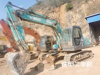 云南-昆明市二手神钢SK140LC-8挖掘机实拍照片
