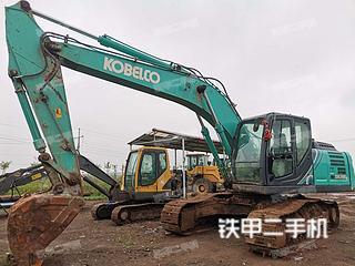 濰坊神鋼SK210LC-10挖掘機實拍圖片
