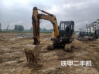 柳工CLG906D挖掘机实拍图片