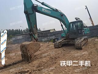 河北-石家庄市二手神钢SK210LC-8挖掘机实拍照片