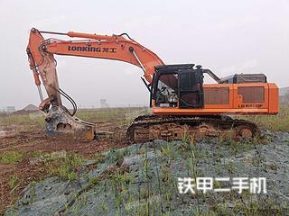 龍工LG6490F挖掘機實拍圖片