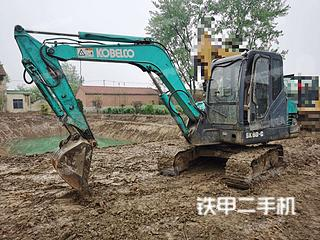 安徽-蚌埠市二手神钢SK60-C挖掘机实拍照片