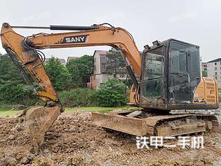 湖南-永州市二手三一重工SY75C挖掘机实拍照片