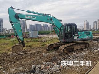 安徽-芜湖市二手神钢SK210LC-8挖掘机实拍照片