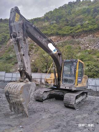 陕西-商洛市二手沃尔沃EC140BLC挖掘机实拍照片