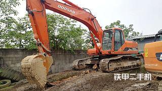 四川-德阳市二手斗山DH258LC-7挖掘机实拍照片