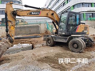 三一重工SY155W挖掘機實拍圖片
