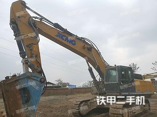 河南-郑州市二手徐工XE470D挖掘机实拍照片