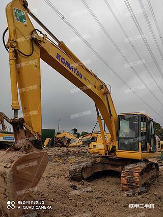 广州小松PC200-7挖掘机实拍图片