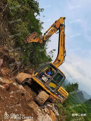 河池中聯重科ZE150E挖掘機實拍圖片