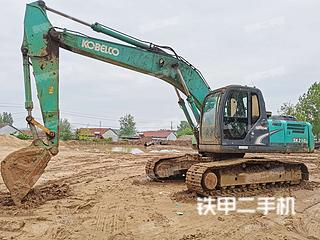 江苏-连云港市二手神钢SK210LC-8挖掘机实拍照片