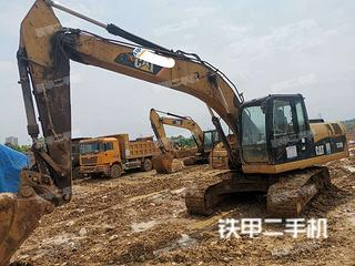 湖北-宜昌市二手卡特彼勒320D液压挖掘机实拍照片