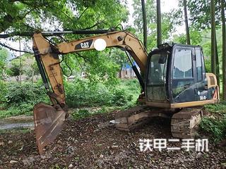 河池卡特彼勒307D液壓挖掘機實拍圖片