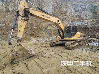 湖南-湘西土家族苗族自治州二手柳工CLG926E挖掘机实拍照片