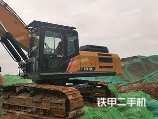 濰坊三一重工SY375H挖掘機實拍圖片