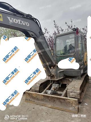 山西-太原市二手沃尔沃EC55D挖掘机实拍照片