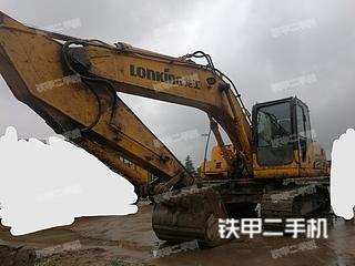 湖南-衡阳市二手龙工LG6215挖掘机实拍照片