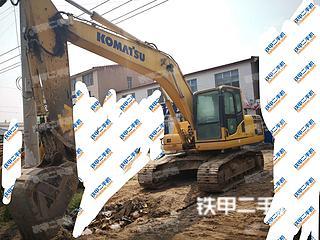 开封小松PC200-8挖掘机实拍图片