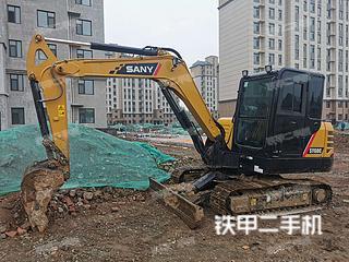 山东-日照市二手三一重工SY55C挖掘机实拍照片
