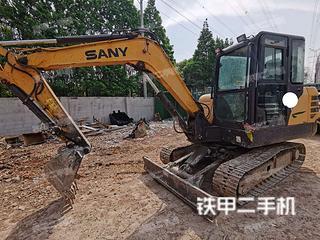 無錫三一重工SY55C挖掘機實拍圖片