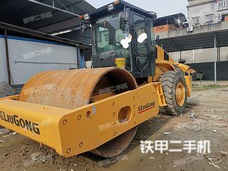 四川-绵阳市二手柳工CLG622压路机实拍照片