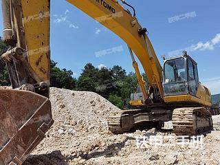 浙江-杭州市二手住友SH350HD-5挖掘机实拍照片