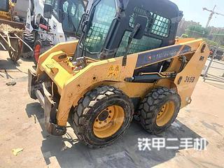 東營柳工CLG365B滑移裝載機實拍圖片