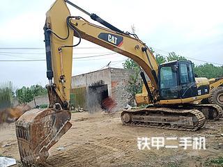 臨沂卡特彼勒320D液壓挖掘機實拍圖片